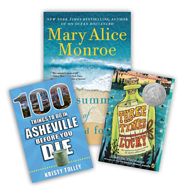 three books for AAA Member book giveaway