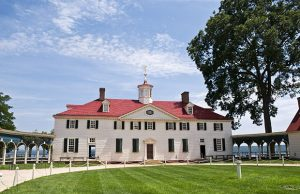The former home of President, George Washington