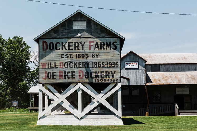 Mississippi Blues Dockery Farms Exterior