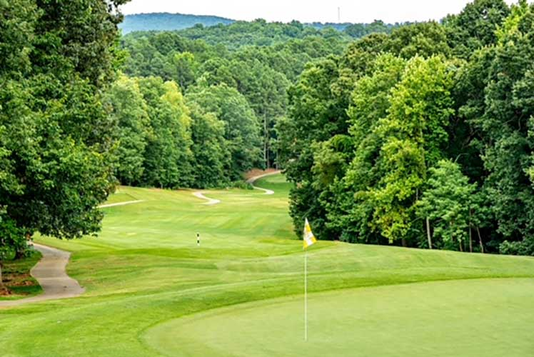 Cherokee Valley golf course, South Carolina