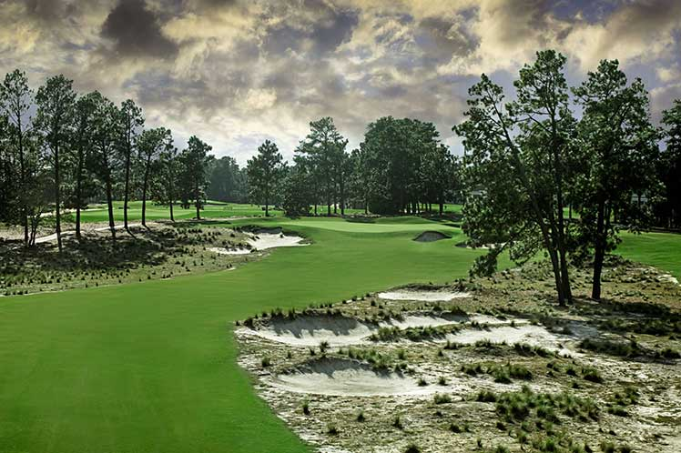 A green fairway at Pinehurst golf course