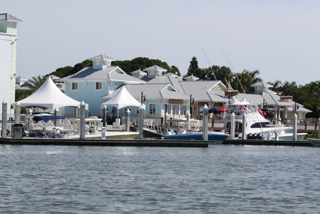 Waterview of Outriggers restaurant